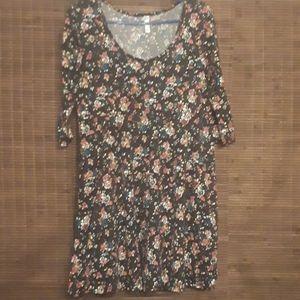 Target 3/4 Sleeve Causal Floral Dress